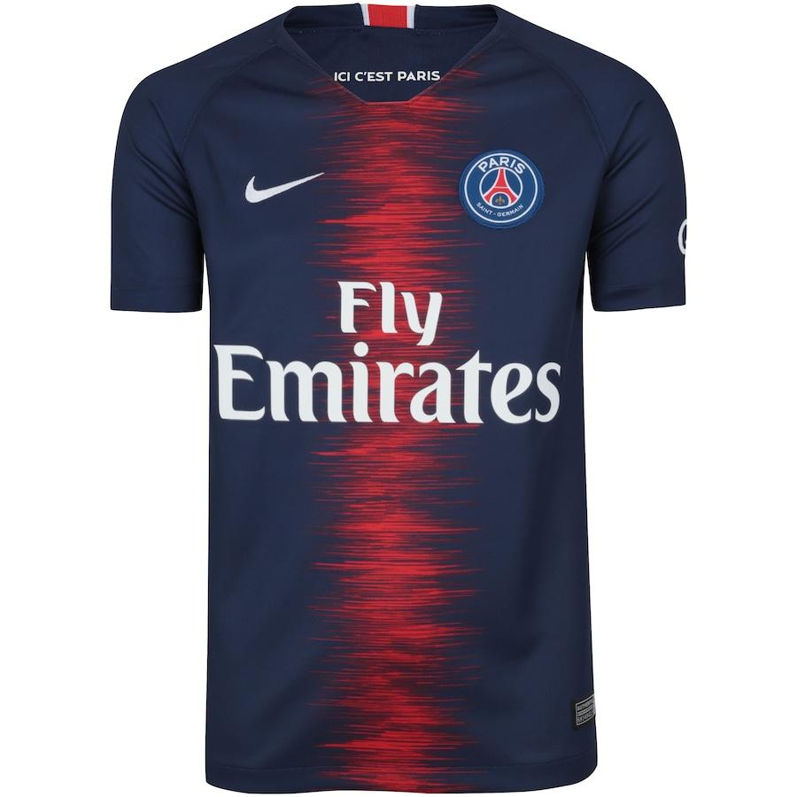 1fb32639b8bab Camisa PSG I 18 19 Nike - Infantil