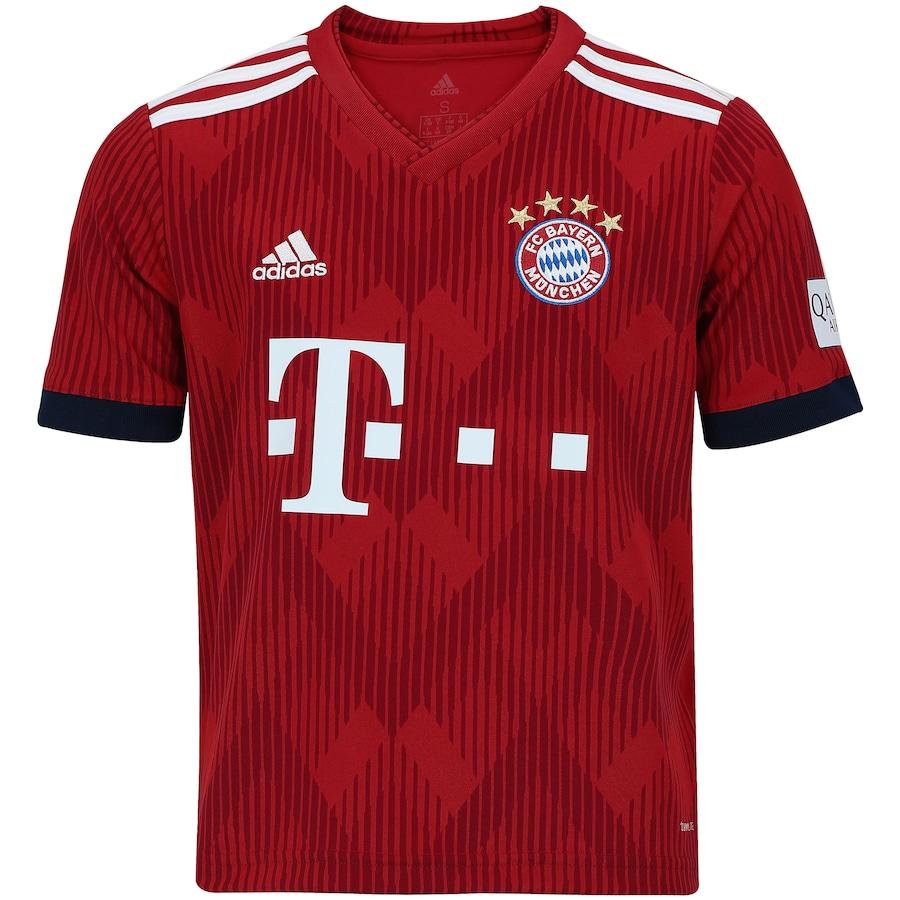 Camisa Bayern de Munique I 18 19 adidas - Infantil 0c0fb32f502a3