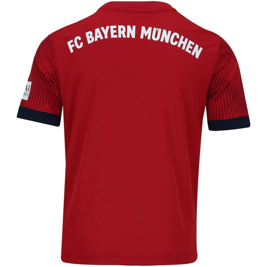 Camisa Bayern de Munique I 18 19 adidas - Infantil a324422bbe4ac