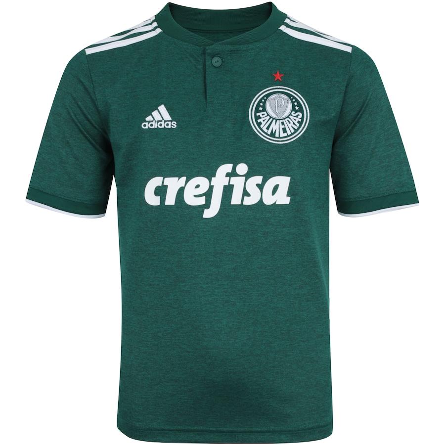 35432f33c80 Camisa do Palmeiras I 2018 adidas - Infantil