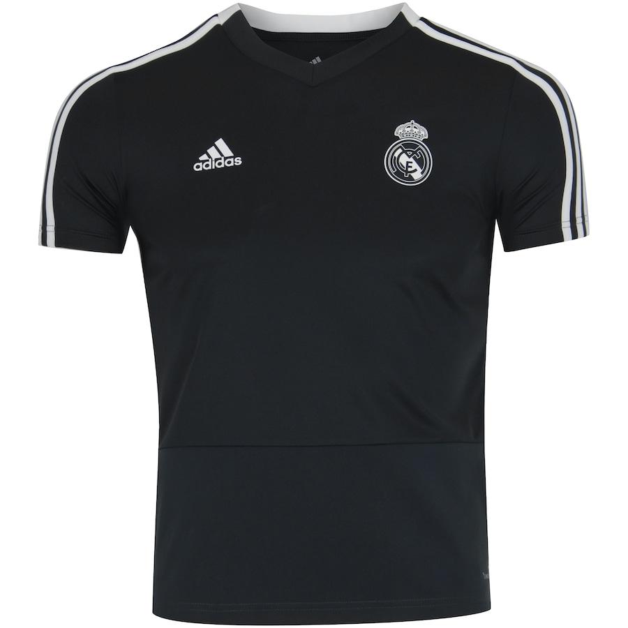 Camisa de Treino Real Madrid 18 19 adidas - Infantil f8350e19ef928