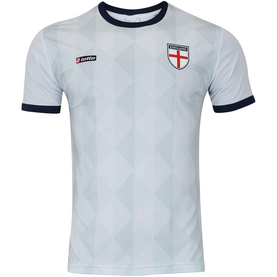 Camisa Inglaterra Retrô Lotto - Masculina 6a3b8f387b21b