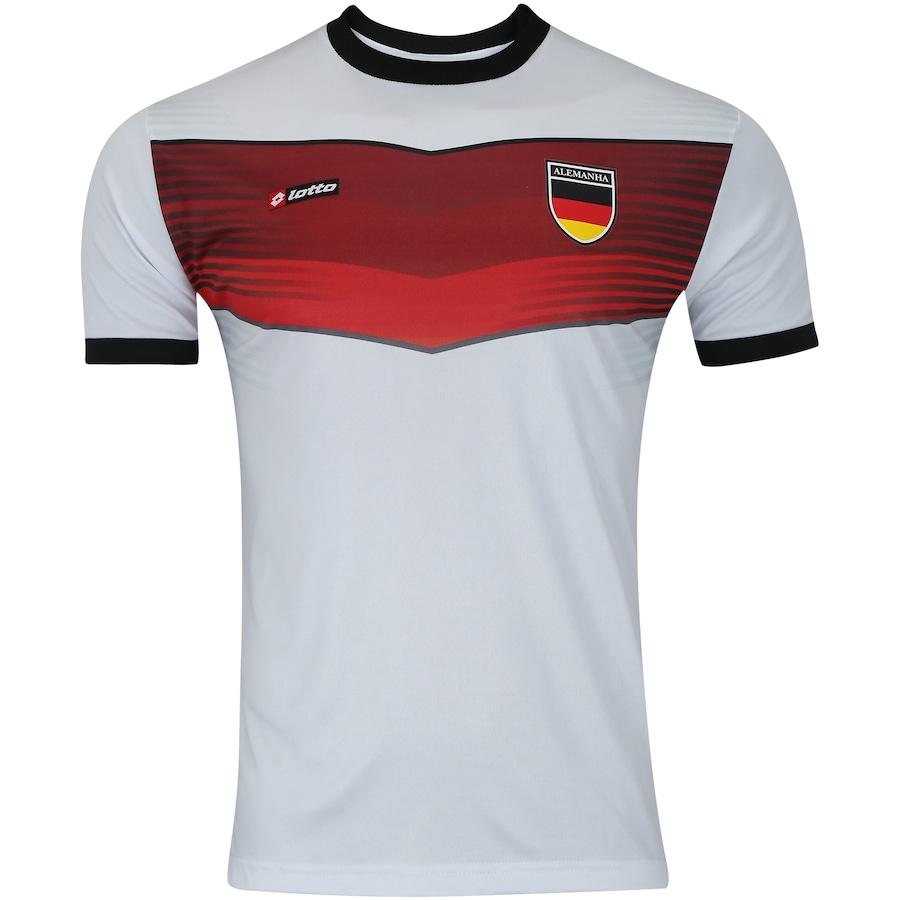 Camisa Alemanha Retrô Lotto - Masculina 51824e01c5194