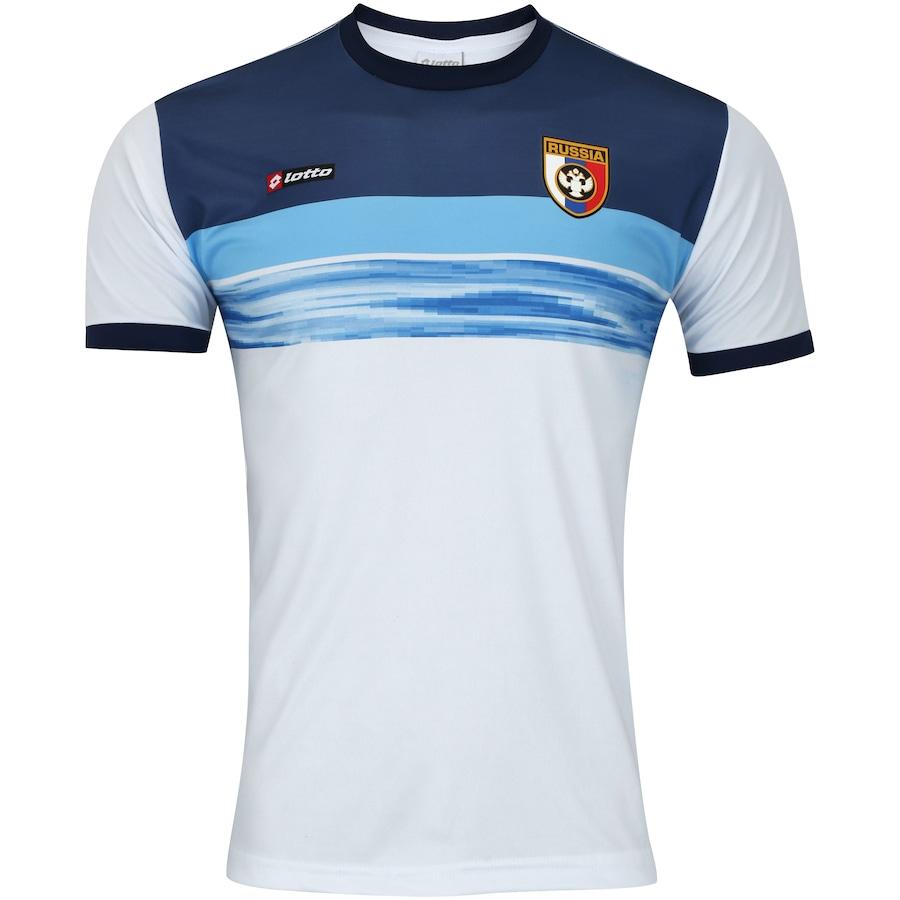 Camisa Rússia Retrô Lotto - Masculina c2bfe510c3e60