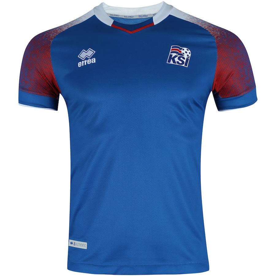 6d1c20c54a2da Camisa Islândia I 2018 Erreà - Masculina