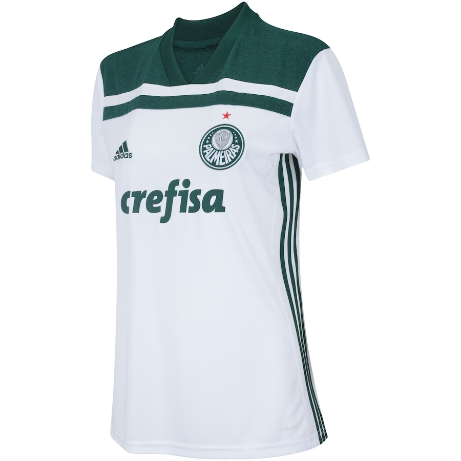 67f29db7f2848 Camisa do Palmeiras II 2018 adidas - Feminina