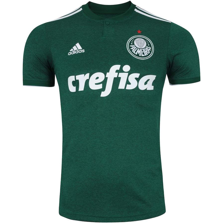 Camisa do Palmeiras I 2018 adidas - Masculina a391b1f8b0e1a