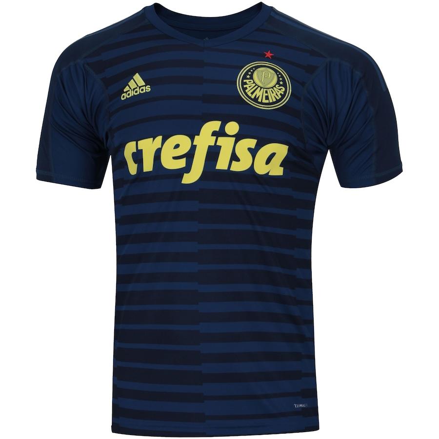 Camisa de Goleiro do Palmeiras I 2018 adidas - Masculina fc81b7e589f4a