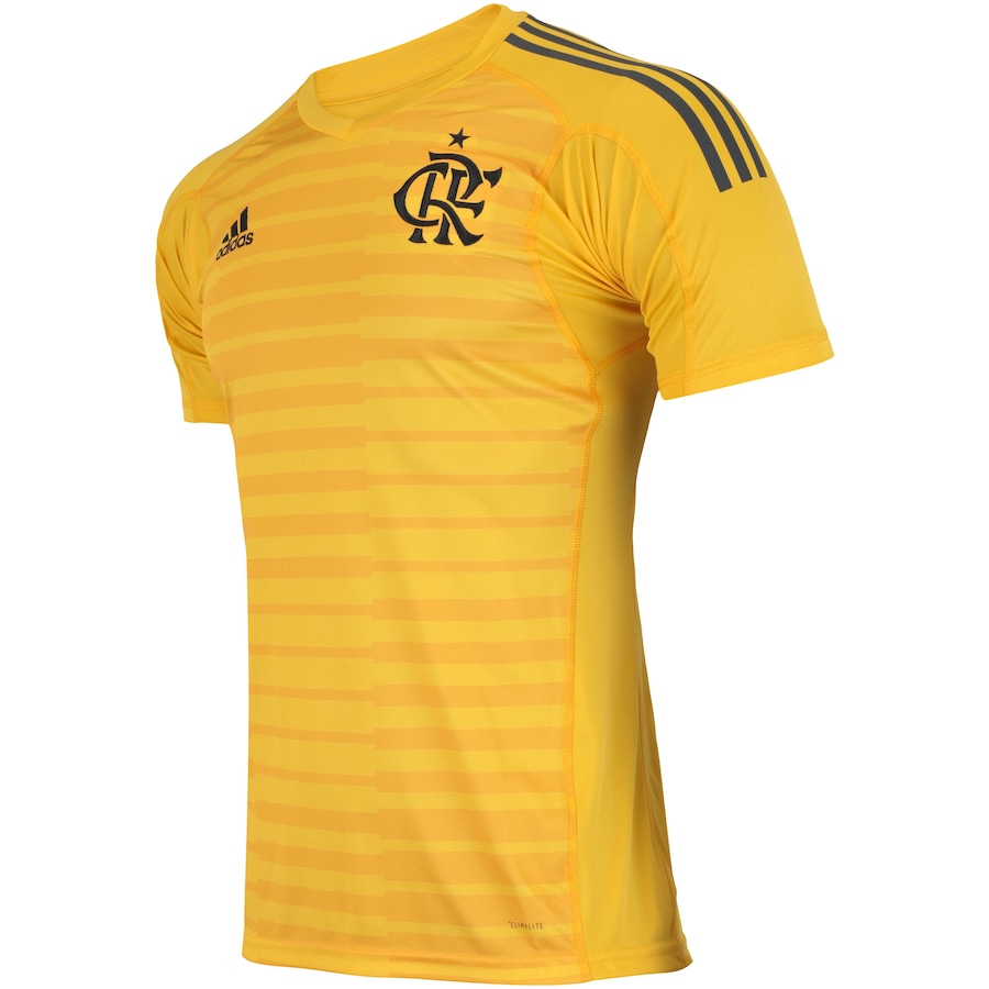 Camisa de Goleiro do Flamengo I 2018 adidas - Masculina 484a2df31b0a1