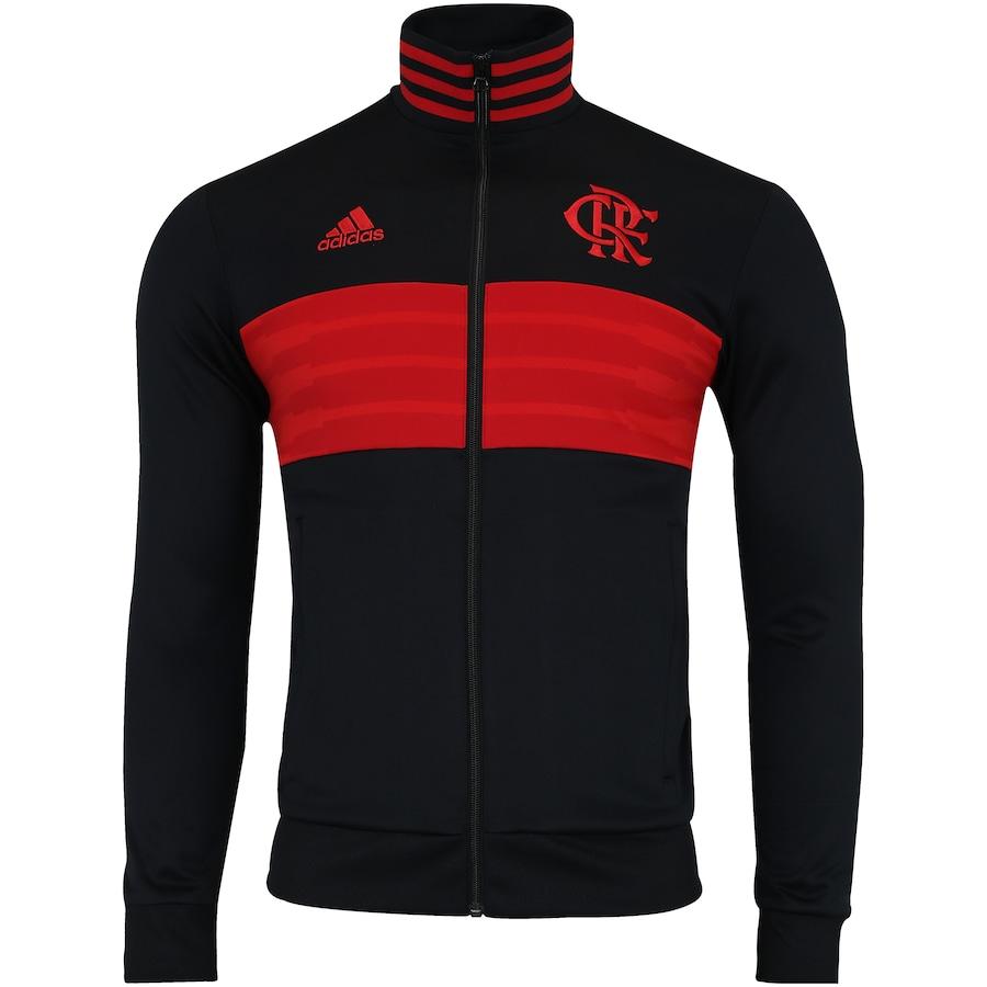 Jaqueta do Flamengo 3S 2018 adidas - Masculina 7eaea75967b73