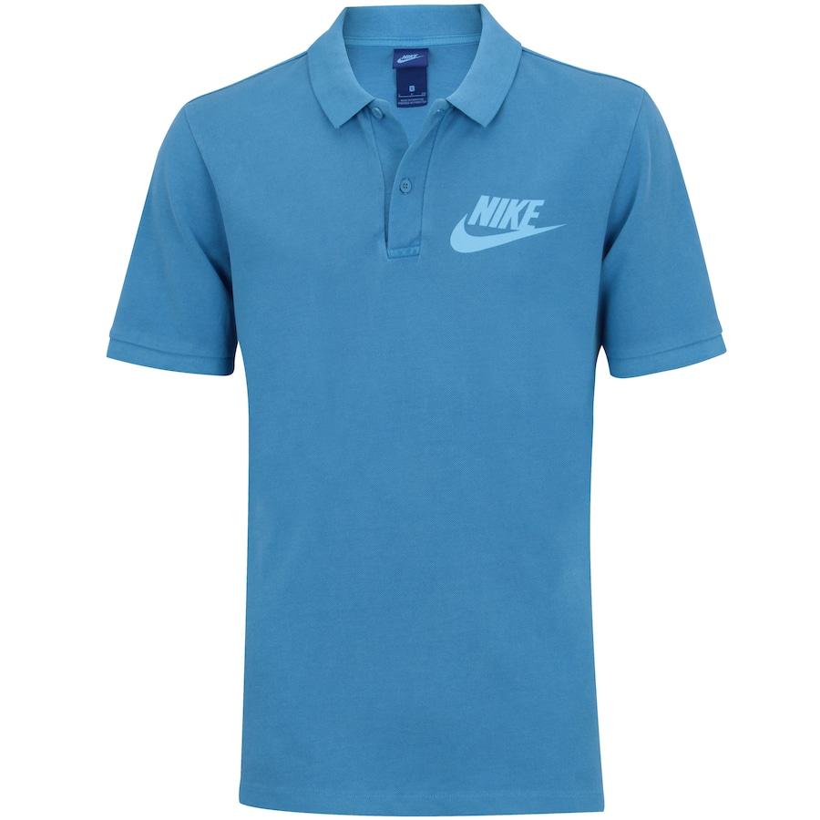 Camisa Polo Nike Piquet Wash HBR - Masculina ac1de89201348