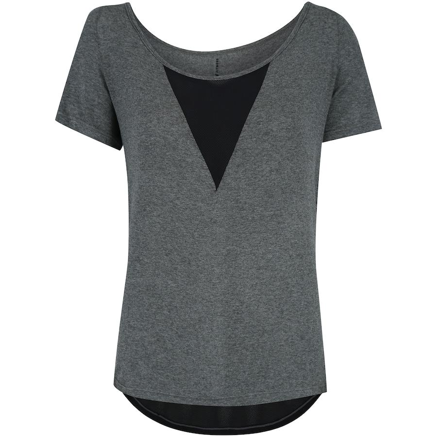 2662b6764 Camiseta Colcci Detalhe Tela - Feminina