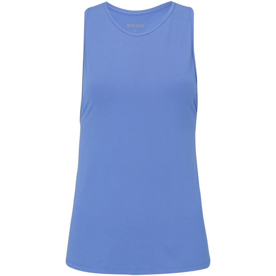 d9ff679f18 Camiseta Regata Memo Nadador Elástico - Feminina