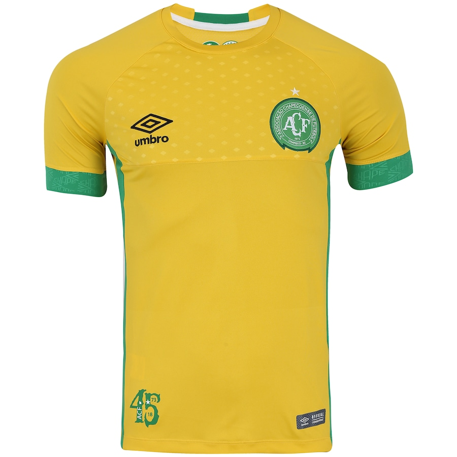 Camisa de Goleiro da Chapecoense I 2018 Umbro - Masculina 2639f37257ada