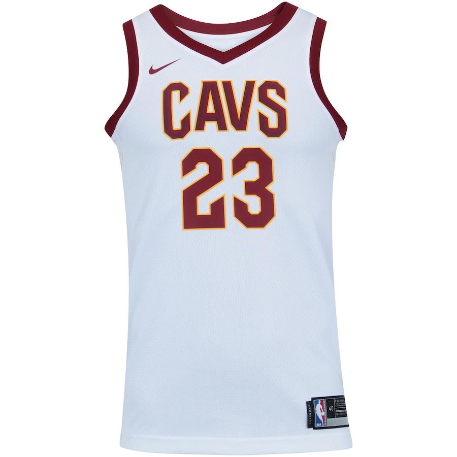 86caa6308 Camisa Regata Nike NBA Cleveland Cavaliers Lebron James 23 - Masculina