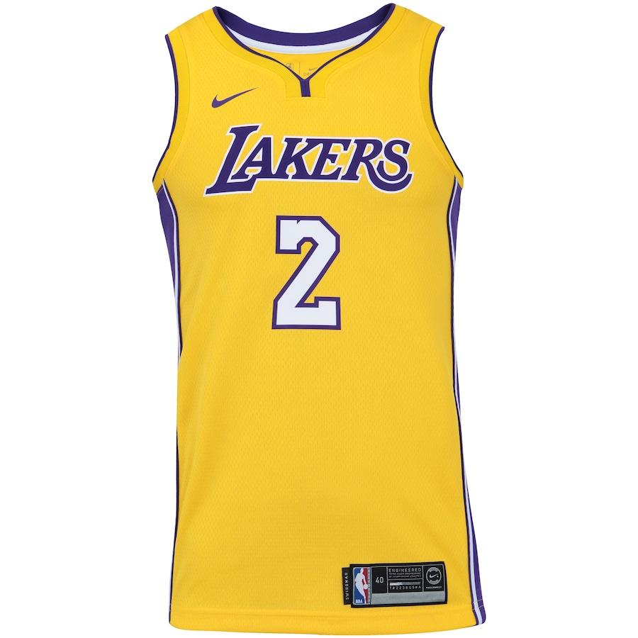 89dc25459 Camisa Regata Nike NBA Los Angeles Lakers Lonzo Ball 2 - Masculina