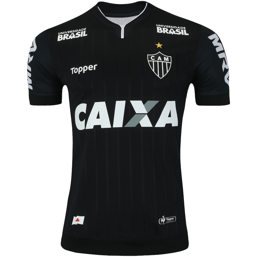 e75c497dc6156 Camisa do Atlético-MG III 2018 Topper - Masculina