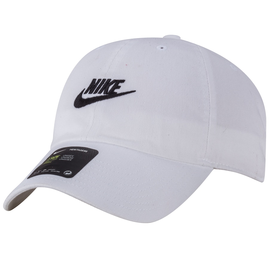 e7634fe8f7 Boné Aba Curva Nike Sportswear H86 Futura Washed - Strapback - Adulto