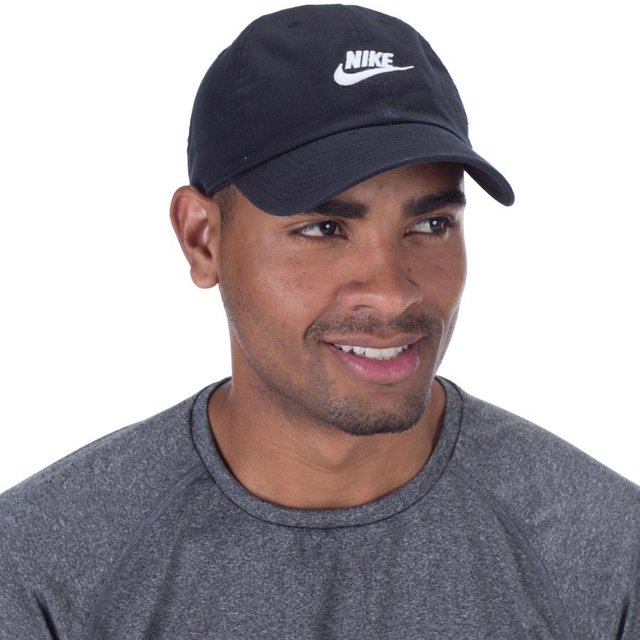 88fb434546 Boné Aba Curva Nike Sportswear H86 Futura Washed - Strapback - Adulto