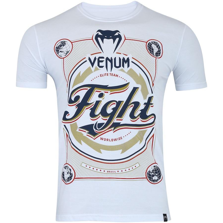 19f07ab9d Camiseta Venum Worldwide - Masculina