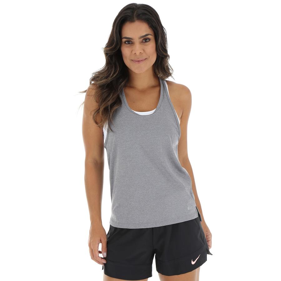 76da38b37 Camiseta Regata Nike Miler Racer - Feminina