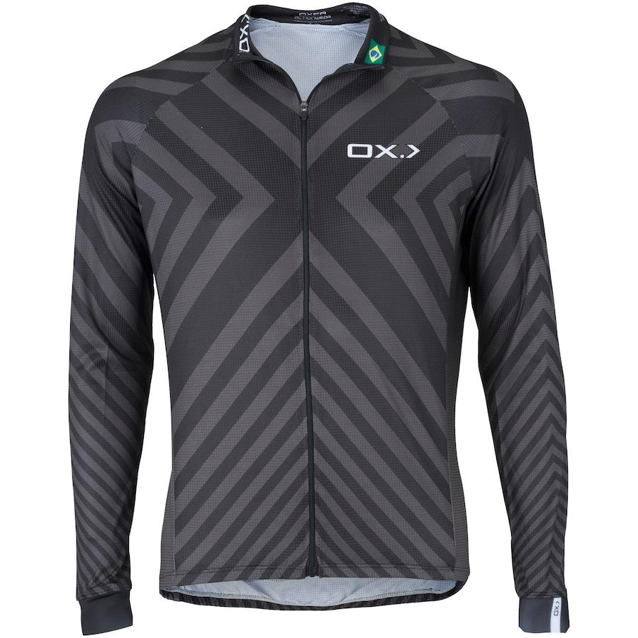 Camisa de Ciclismo Manga Longa Oxer Siena - Masculina 56b875cfe00