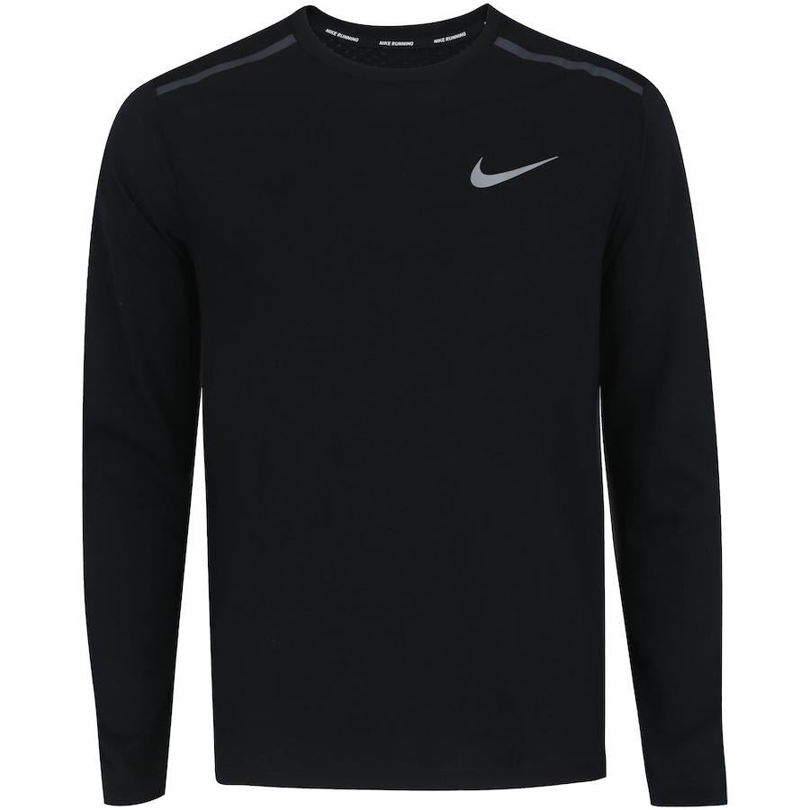 31431fb942 Camiseta Manga Longa Nike Breathe Rise 365 - Masculina