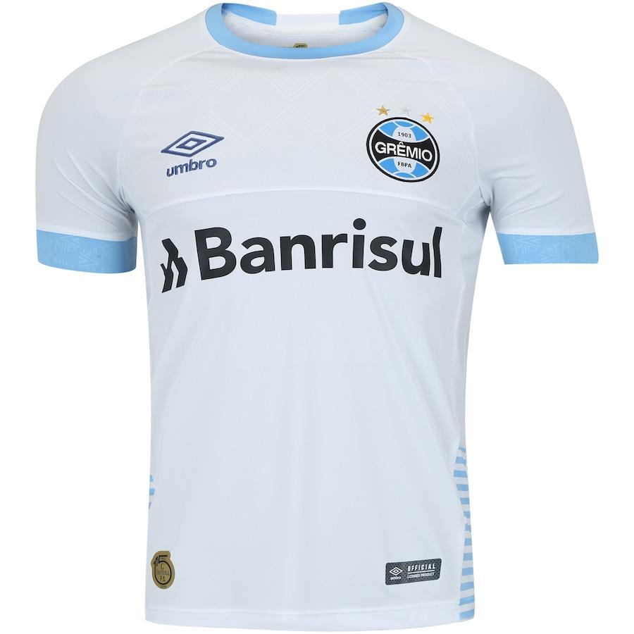 Camisa do Grêmio II 2018 Umbro com Patrocínio - Masculina e1234ecd241