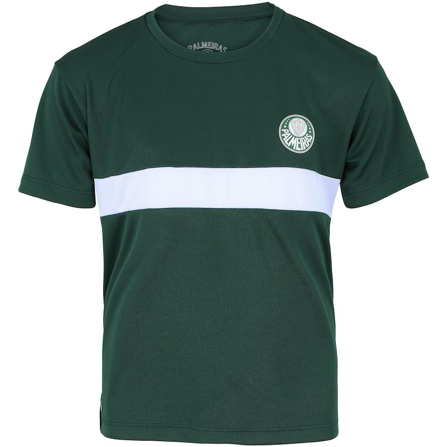 55ce6c7898 Camiseta do Palmeiras Faixa Meltex - Infantil
