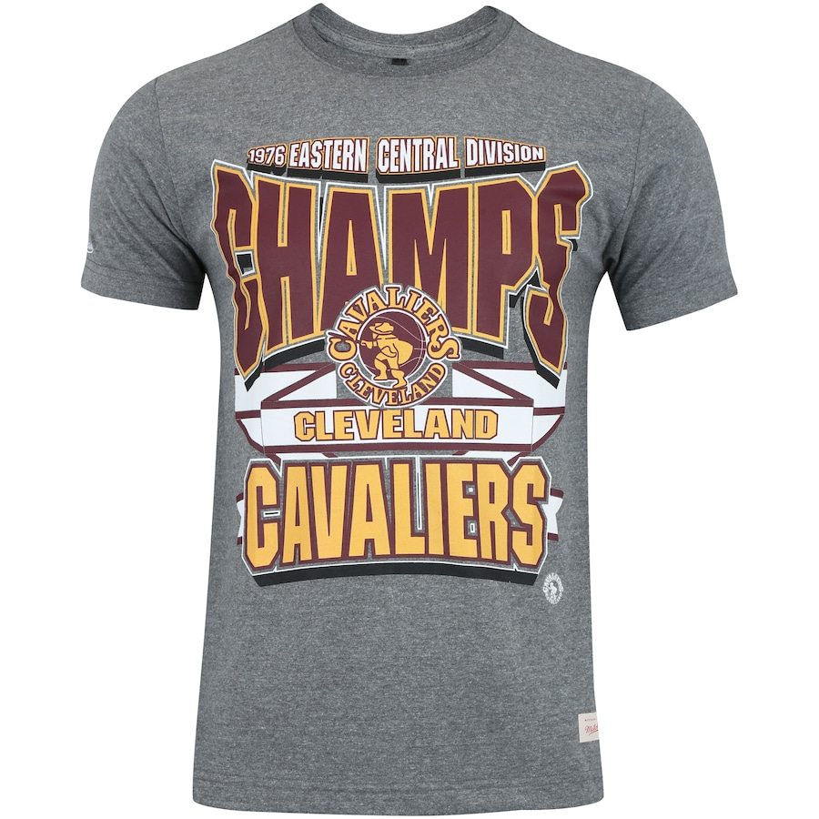 26cc31b1f2 Camiseta Mitchell   Ness Cleveland Cavaliers Sportsman Crew - Masculina