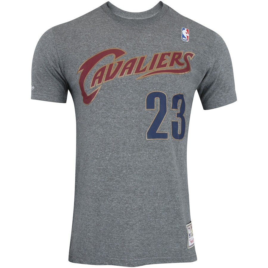 d77b31b1b4b4d Camiseta Mitchell   Ness Cleveland Cavaliers Name and Number - Masculina