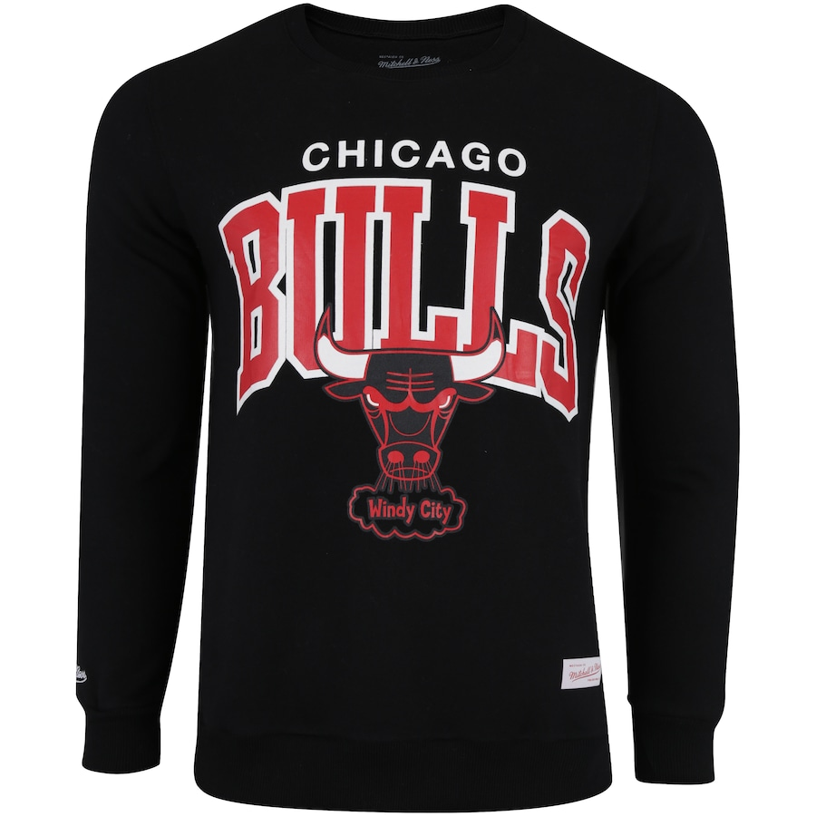 1babf26014 Blusão de Moletom Mitchell   Ness Chicago Bulls - Masculino