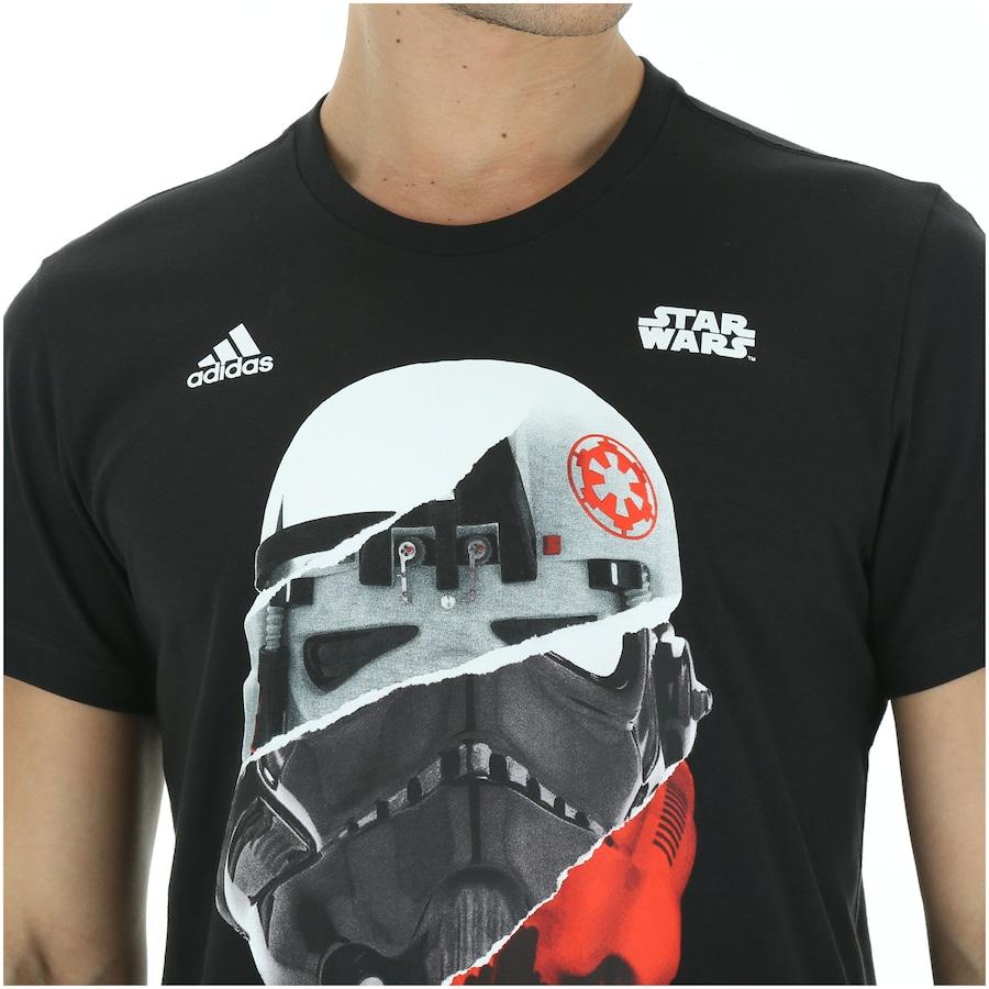 estilo de moda primer nivel vende Camiseta adidas Star Wars Stormtrooper - Masculina - Centauro
