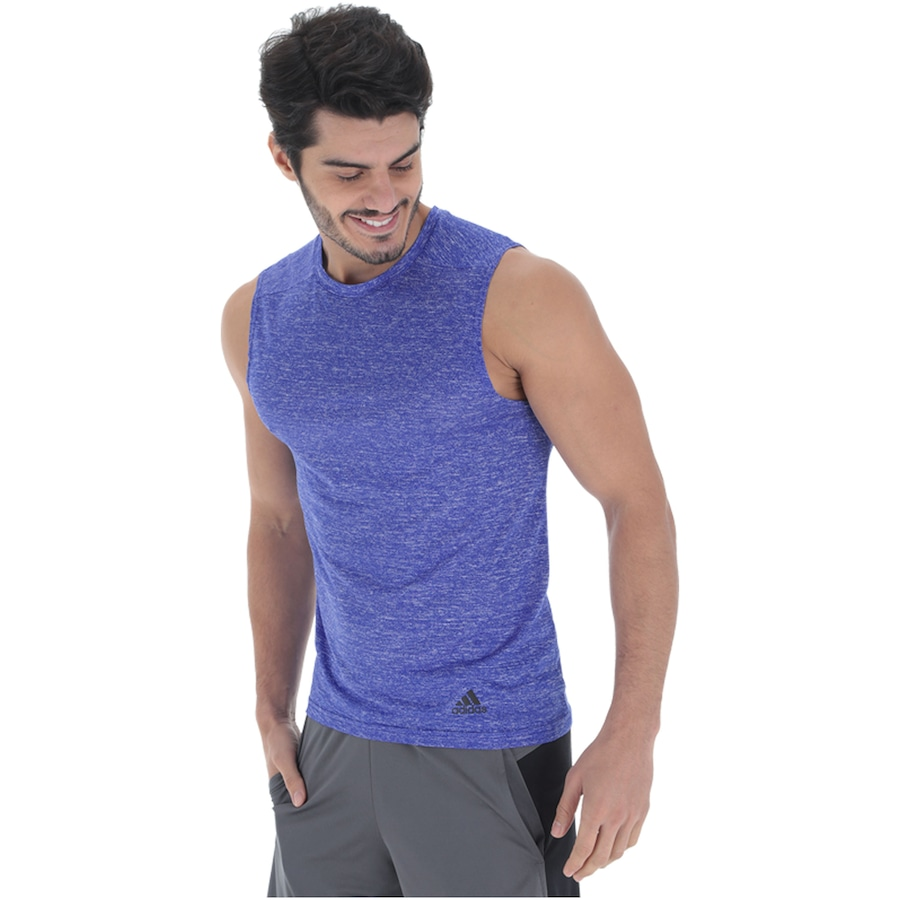 2b4f4894bb2e2 Camiseta Regata adidas Run SL - Masculina