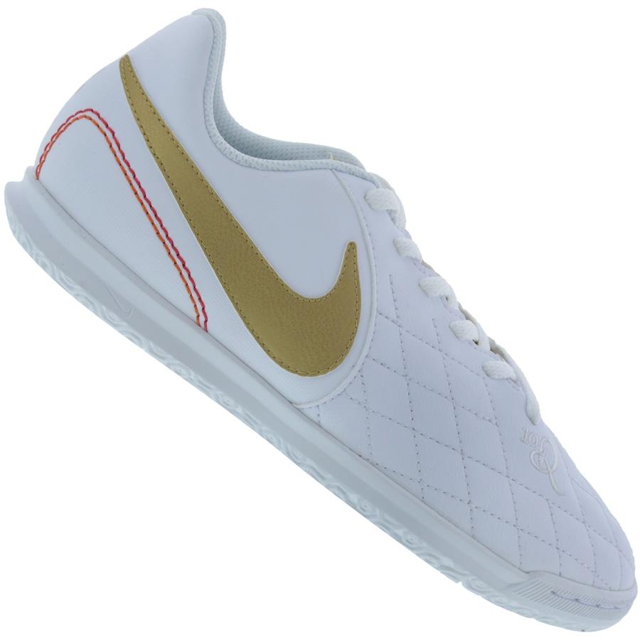 3e404d0112e Chuteira Futsal Nike Tiempo Legend X 7 Club 10R IC - Infantil