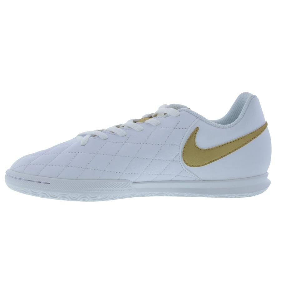 Chuteira Futsal Nike Tiempo Legend X 7 Club 10R IC - Infantil 369a898e11556