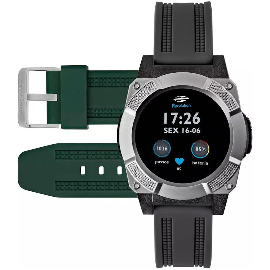 5cc4af5f701 Relógio Inteligente Smartwatch Mormaii Revolution MOSRAA - Masculino