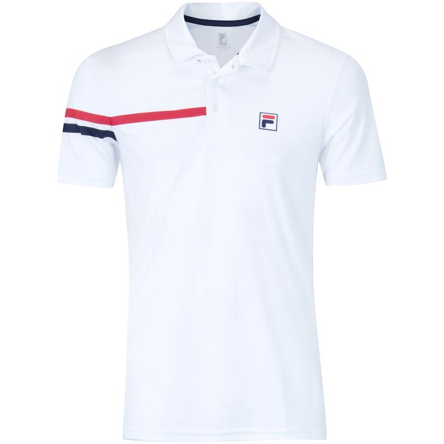 addd0af9f4 Camisa Polo com Proteção Solar UV Fila Bands - Masculina