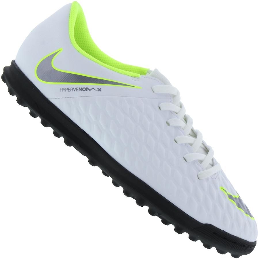 b45d4b8734 Chuteira Society Nike Hypervenom Phantom X 3 Club TF - Infantil. undefined