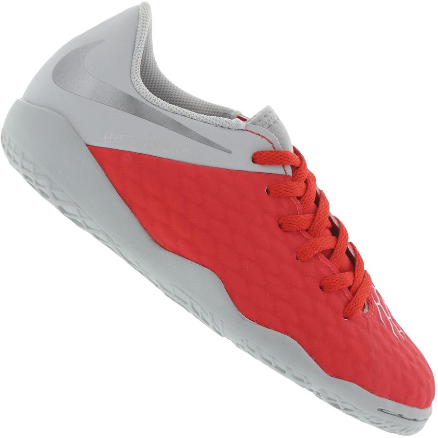 fd024a6c95 Chuteira Futsal Nike Hypervenom Phantom X 3 Academy IC - Infantil