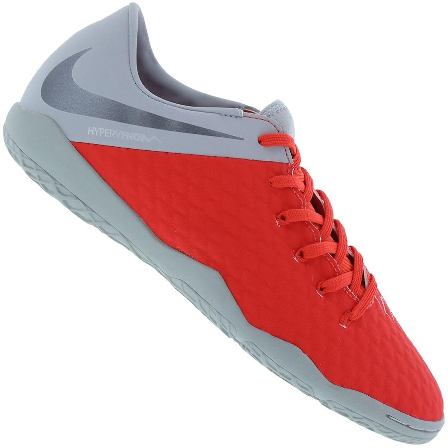 2a26eead4b Chuteira Futsal Nike Hypervenom Phantom X 3 Academy IC - Adulto