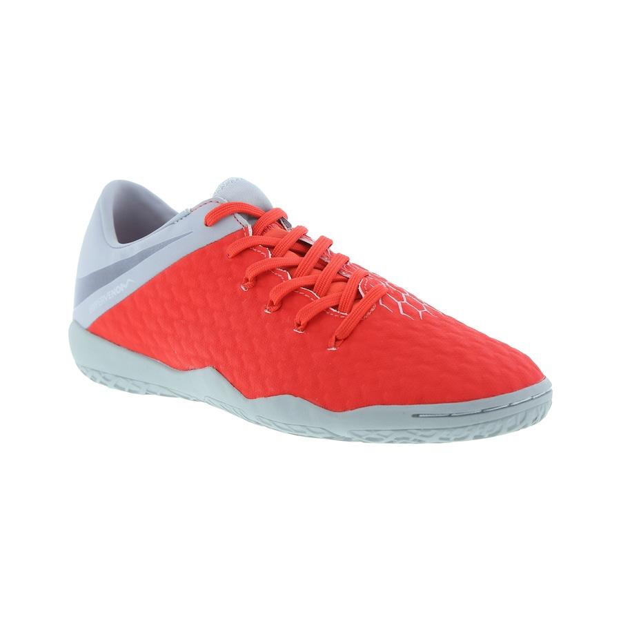 Chuteira Futsal Nike Hypervenom Phantom X 3 Academy IC - Adulto 9de1786b9d86e