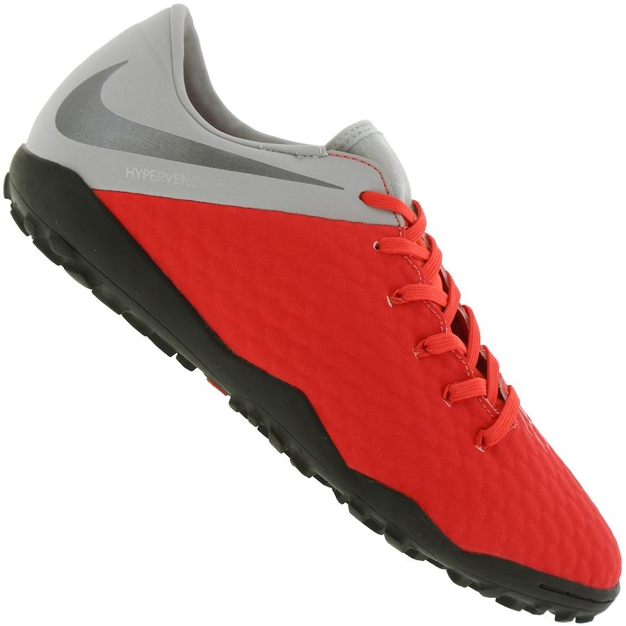 13dfb2a8715cd Chuteira Society Nike Hypervenom Phantom X 3 Academy TF - Adulto