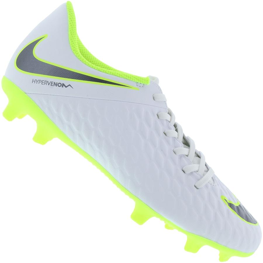 5e00c898c3247 Chuteira de Campo Nike Hypervenom Phantom 3 Club FG - Adulto