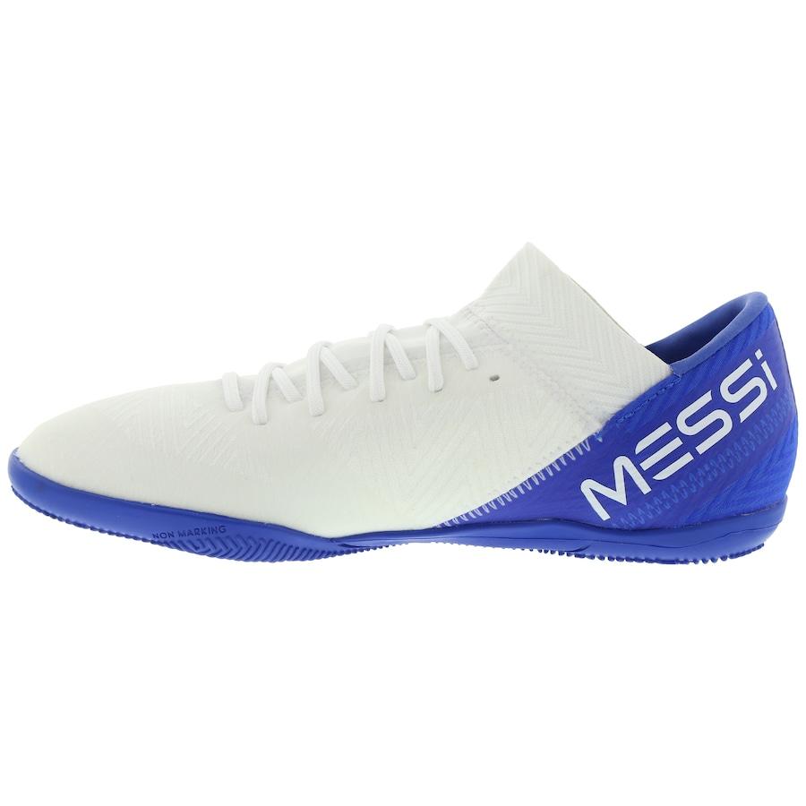 Chuteira Futsal adidas Nemeziz Messi Tango 18.3 IC - Infantil f7324c3f3cfaa