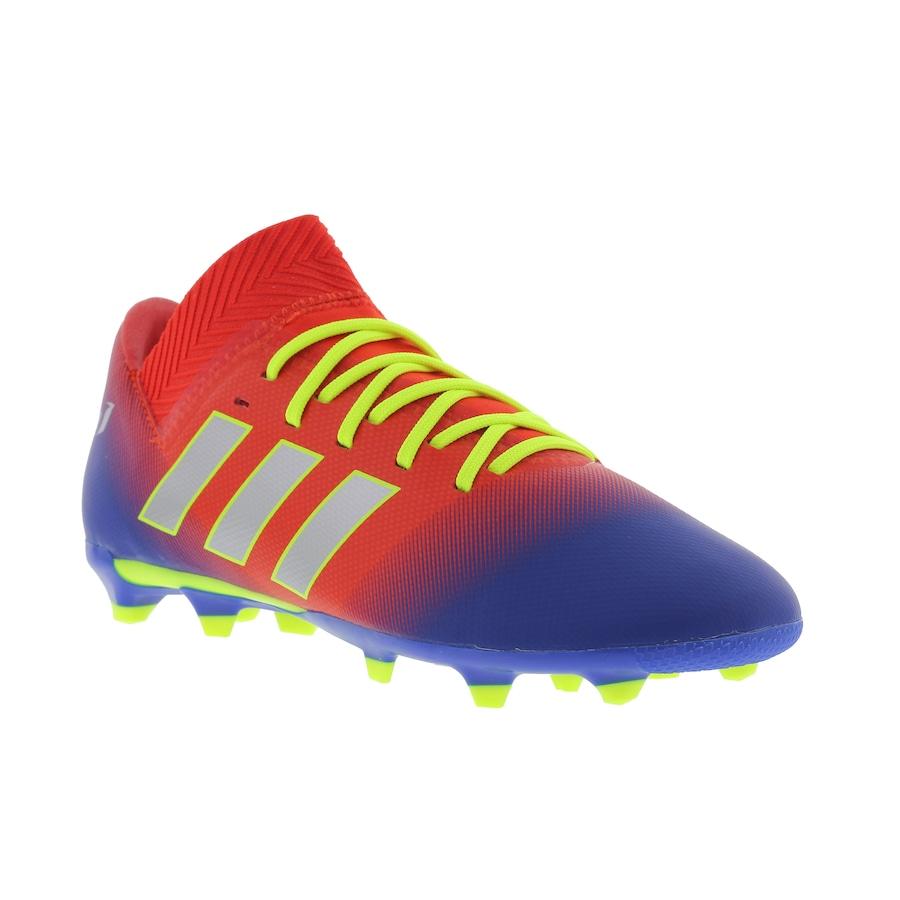 ded9e440f237 Chuteira de Campo adidas Nemeziz Messi 18.3 FG - Infantil