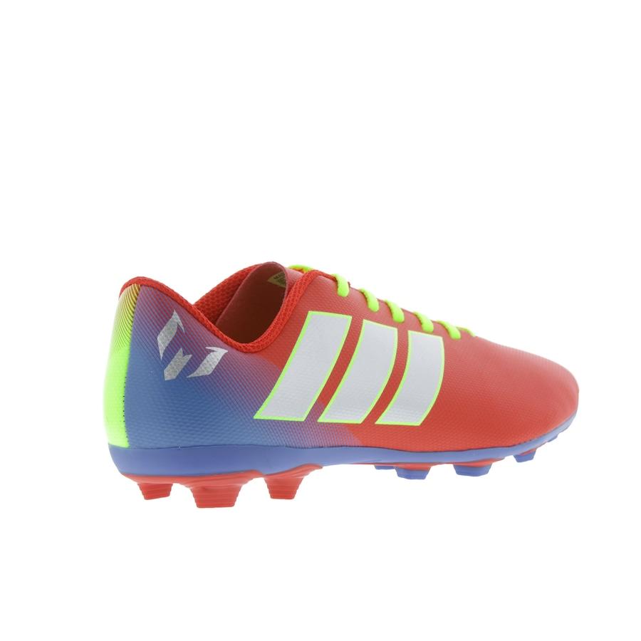 6a2a8e7adb267 Chuteira de Campo adidas Nemeziz Messi 18.4 FG - Infantil