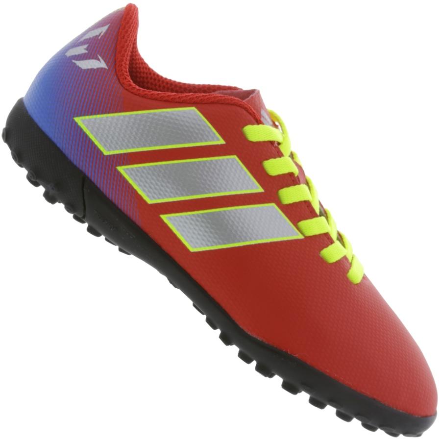 on sale ab82e 46648 Chuteira Society adidas Nemeziz Messi Tango 18.4 TF - Infantil