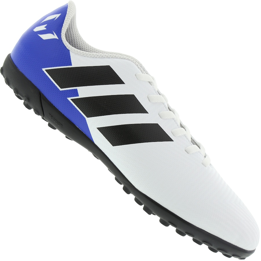 Chuteira Society adidas Nemeziz Messi Tango 18.4 TF - Infantil cbcb430746d52