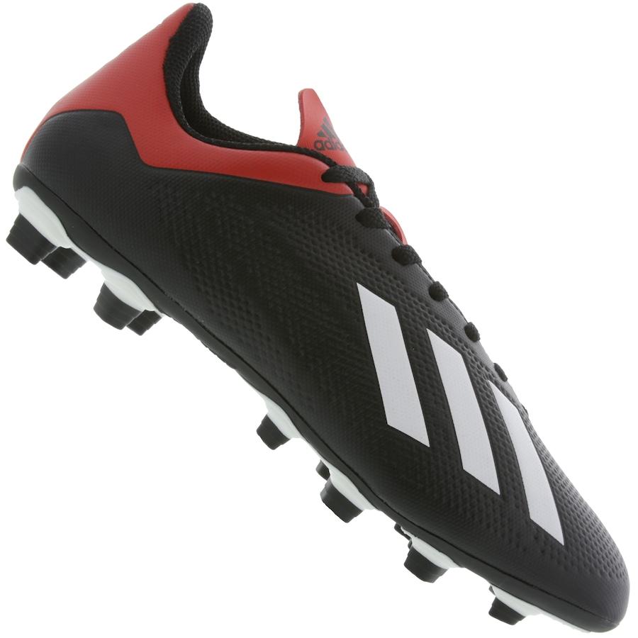 fac7ff1fbfffc Chuteira de Campo adidas X 18.4 FG - Adulto - Flamengo Loja